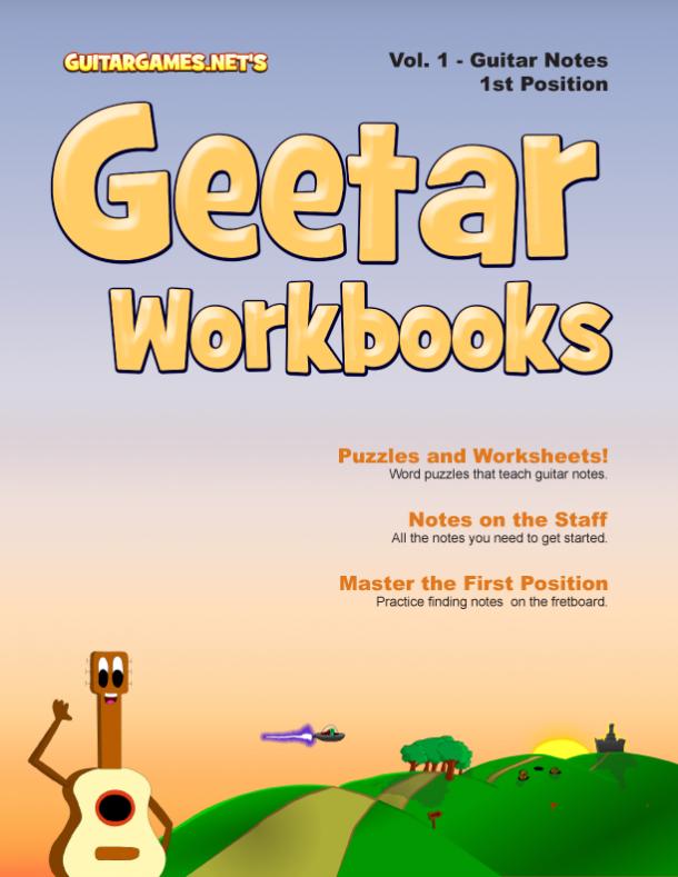 Guitar Worksheets for Beginners